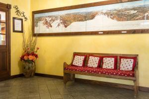 Гостиная зона в Hotel Crampon