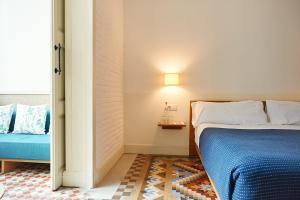 Cama o camas de una habitación en Hotel Casa Bonay