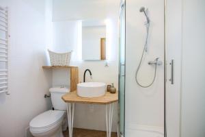 Kúpeľňa v ubytovaní The Secret Garden Hostel