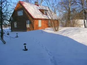 Kalda Talu in de winter