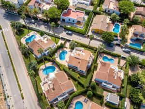 Vista aerea di Villas Geisan