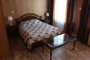 Кровать или кровати в номере Хостел Дом Колхозника