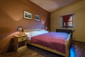 Posteľ alebo postele v izbe v ubytovaní Chateau Krakovany