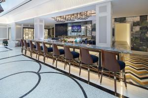 The lounge or bar area at The London West Hollywood at Beverly Hills