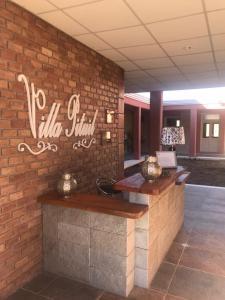 El lobby o recepción de Posada Villa Pituil