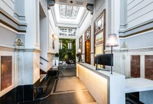 Ett kök eller pentry på Intur Palacio San Martin