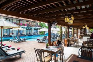 The swimming pool at or near Khaolak Oriental Resort