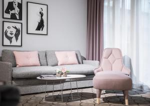 A seating area at Radisson Blu Scandinavia Hotel, Göteborg