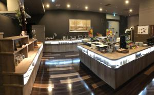A restaurant or other place to eat at Hotel Route-Inn Grand Muroran