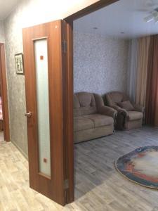 Гостиная зона в Хостел Матрёшка