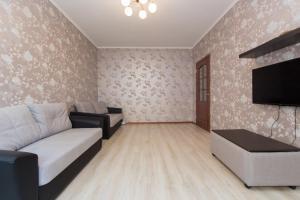 Гостиная зона в Apartment on Gastello