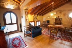 Area soggiorno di Villa Fratta