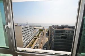 A balcony or terrace at Expo Oriente Lis