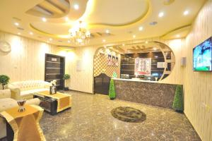 O saguão ou recepção de Ritan Apart-Hotel