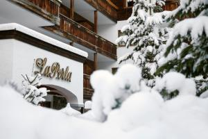Hotel La Perla: The Leading Hotels of the World during the winter