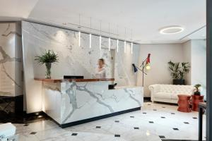 The lobby or reception area at Antigon Urban Chic Hotel - The Leading Hotels of the World