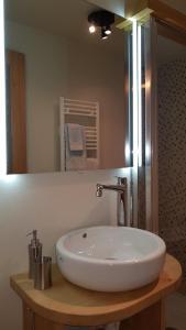 A bathroom at Bilocale Ristrutturato