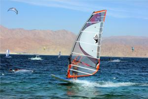 Windsurfing at the inn or nearby