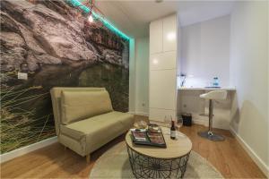 Zona de estar de Hotel Ciudad del Mar