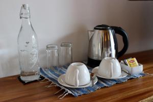 مرافق لصنع الشاي والقهوة في Coco Cabana
