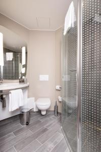 A bathroom at ibis Vilnius Centre