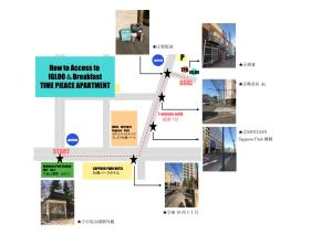 The floor plan of Igloo Dorm & Breakfast