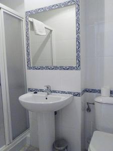 Un baño de Residencia Universitaria Cadiz Centro