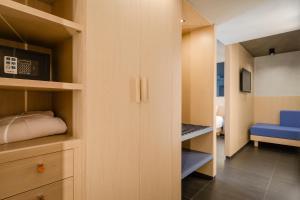 Litera o literas de una habitación en Hotel Metropolis