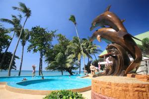 Der Swimmingpool an oder in der Nähe von Cookies Hotel