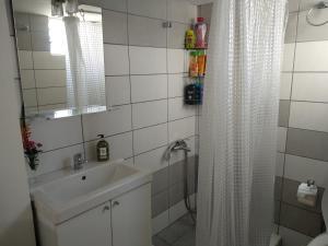A bathroom at NAKI Vacation Rental