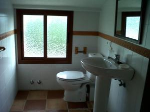 Un baño de Apartamentos Rurales Mirador de Jubrique