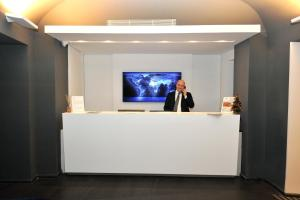 The lobby or reception area at Culture Hotel Centro Storico