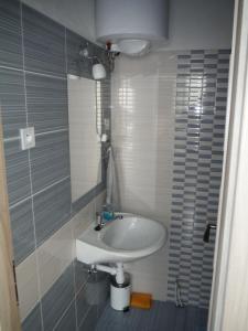 Kúpeľňa v ubytovaní Apartman Silver