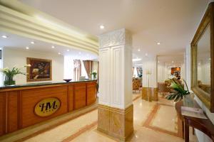Vstupní hala nebo recepce v ubytování Hotel Mozart