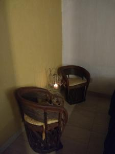 A seating area at La Primavera Habitacion