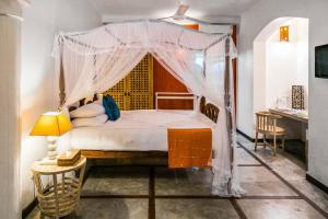 Cama o camas de una habitación en Thambapanni Retreat