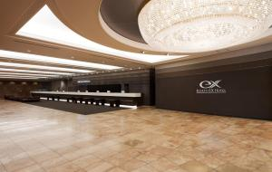 The lobby or reception area at Keikyu EX Hotel Shinagawa