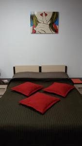 Кровать или кровати в номере Апартаменты Манхэттен