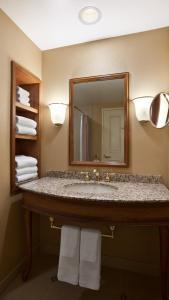 A bathroom at Harrah's Joliet Casino Hotel