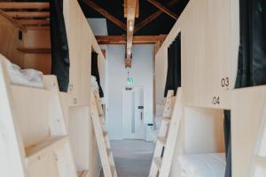 hostelkochi TAOにある二段ベッド