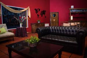 Un lugar para sentarse en Hostel Inn Calafate