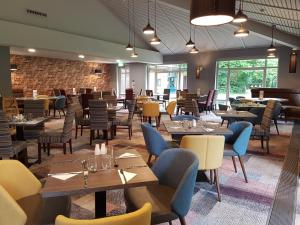 A restaurant or other place to eat at Novotel Manchester West