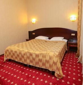 Кровать или кровати в номере Hotel Imperial