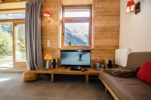 A seating area at Chalet Panorama