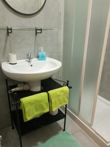 A bathroom at Apartment in Salerno Centro