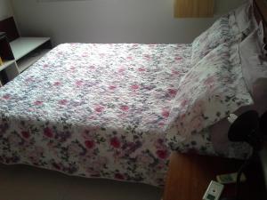 Cama ou camas em um quarto em casa duplex