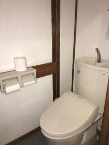 A bathroom at Guesthouse Kiten