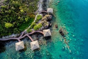 Vue panoramique sur l'établissement Vinpearl Luxury Nha Trang