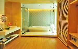 A bathroom at The Lapa Hua Hin
