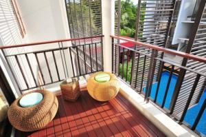 A balcony or terrace at The Lapa Hua Hin